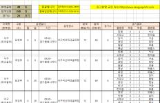 2019생활체육동호회리그(파크골프,배드민턴)대회 6월경…